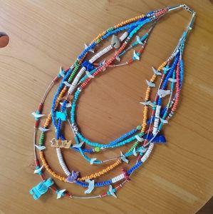 Ultimate fetish native sterling necklace